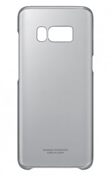 Dėklas Clear Cover Samsung S8 Plus G955 juodas