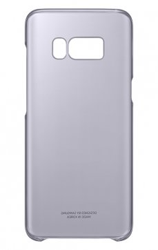 Dėklas Clear Cover Samsung S8 Plus G955 violetinis