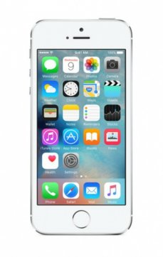 iPhone 5s 16Gb Sidabrinis, Refurbished