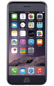 iPhone 6 16Gb Juodas, Refurbished