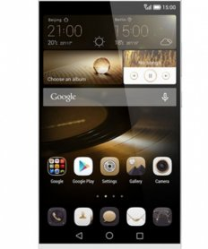 Huawei Mate7 Ascend Sidabrinis