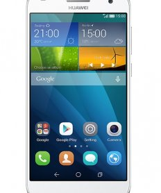 Huawei G7 Ascend Sidabrinis