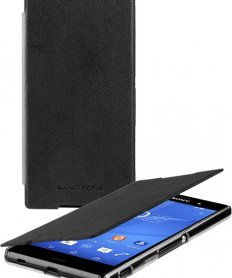 SMA5157B Book Case for Xperia Z3 Plius Black
