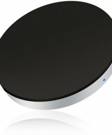 ZESC05B/00 Single Wireless Charger Round Black