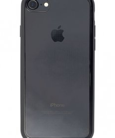 Mirror back cover iPhone 7/8 Dark black