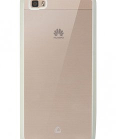 Back cover SIMPLY II for Huawei P8 Lite Transparent