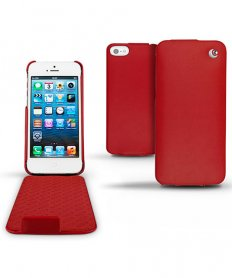 MF046LL/A IPHONE 5S LEATHER COVER RED