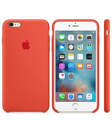 MKXQ2ZM/A IPHONE 6S PLUS SILICONE COVER ORANGE