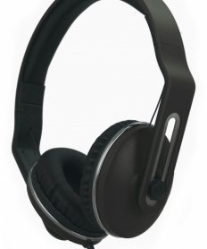 T-F300 Headset with mic Black
