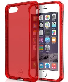 AntiShock Gel case Spectrum for iPhone 7 Red