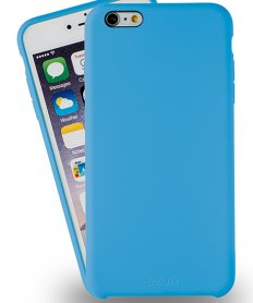 Azuri rubber cover for Iphone 6/6S Blue
