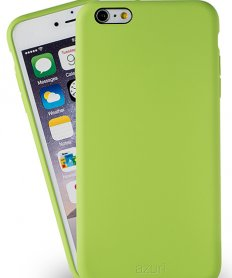 Azuri rubber cover for iPhone 6/6S  Green