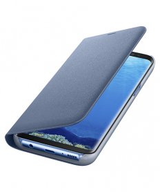NG955PLE LED View Cover for Galaxy S8 Plus Blue