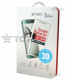 TEMPERED glass 3D screen protector full cover for iPhone 6/7/8 Gold.