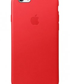 MKXX2ZM/A IPHONE 6/6S LEATHER COVER RED