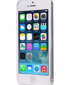 MP-8027 Back cover for iPhone 5/5S/SE transparent