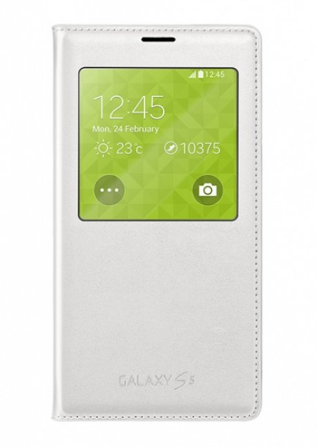 CG900BWEG View Cover for Galaxy S5 G900 White