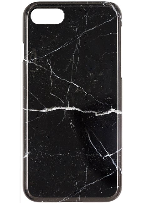 Back case for iPhone 7 Black Marble