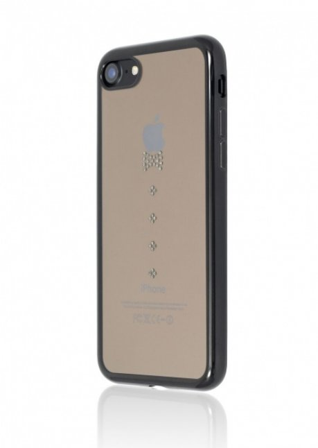 Crystina Back Cover for iPhone 7/8 Jet Black