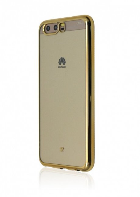 Mirror Back Cover for Huawei P10 Gold
