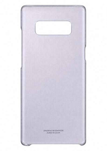 QN950CVE Clear Cover for Samsung Note 8 Orchid Gray