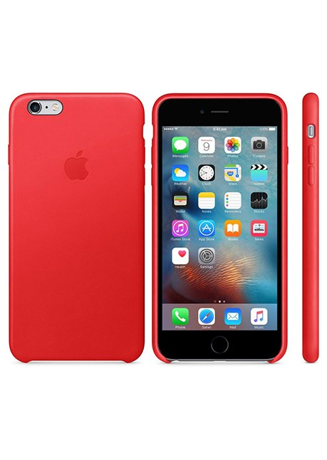 MKXG2ZM/A IPHONE 6S LEATHER COVER RED