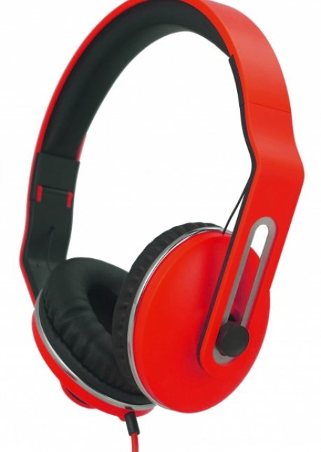 T-F300 Headset with mic Red