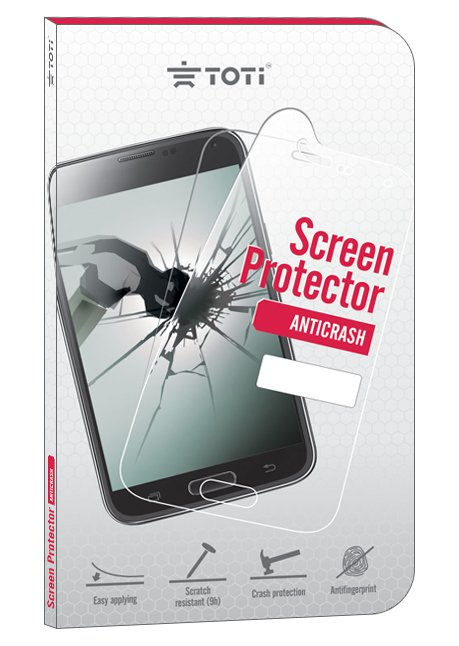 antiCRASH screen protector for Galaxy J3 J320