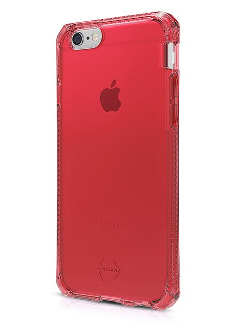 AntiShock Gel case Spectrum for iPhone 6/6S Red