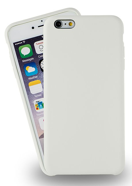 Azuri rubber cover for Iphone 6/6S White