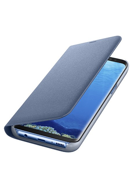 NG950PLE LED View Cover for Galaxy S8 Blue