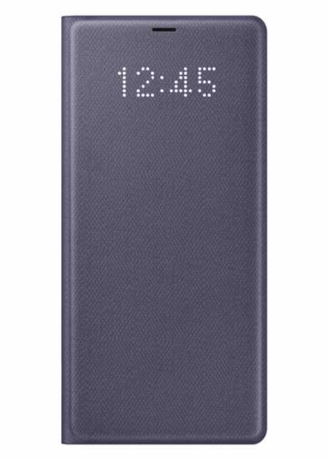 NN950PVE LED View Cover for Samsung Note 8 Orchid Gray