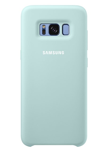 PG955TLE Silicone Cover for Galaxy S8 Plus Blue