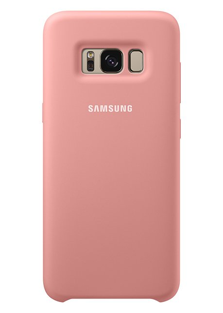 PG950TPE Silicone Cover for Galaxy S8 Pink