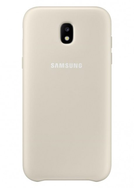 PJ530CFEG Dual Layer Cover for Galaxy J5 (2017) Gold