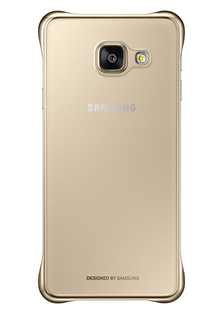 QA310CFEG Clear Cover for Galaxy A3 (2016) A310 Gold