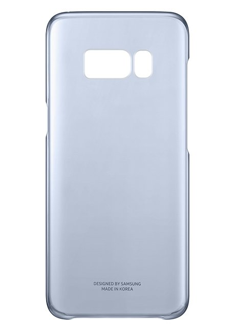 QG955CLE Clear Cover for  Galaxy S8 Plus Blue