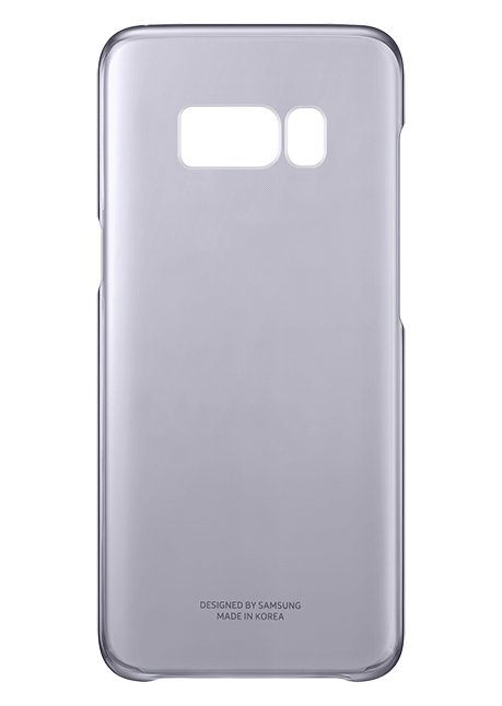 QG950CVE Clear Cover for Galaxy S8 Violet