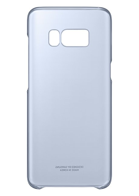 QG950CLE Clear Cover for Galaxy S8 Blue