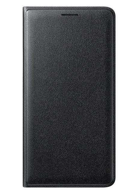 WJ320PBEG Flip cover for Galaxy J3 J320 Black