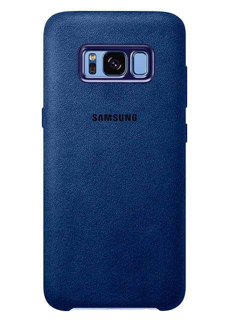 XG955ALE Alcantara Cover for Galaxy S8 Plus Blue