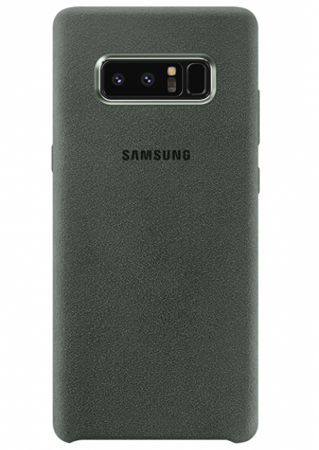 XN950AKE Alcantara Cover for Samsung Note 8 Khaki (naujas)