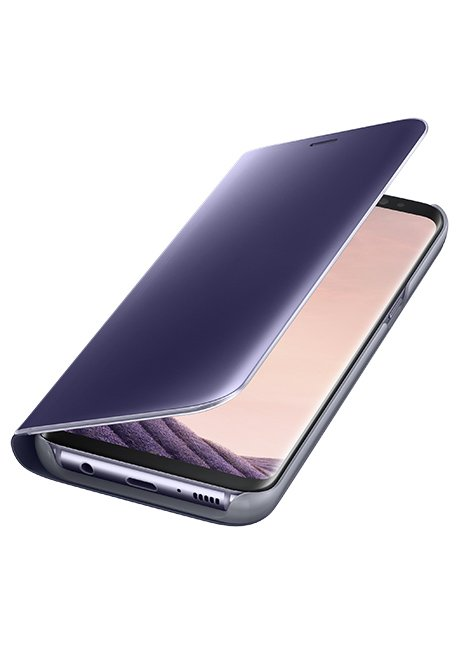 ZG950CVE Clear View Standing Cover for Galaxy S8 Violet