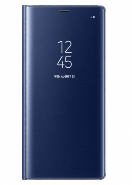 ZN950CNE Clear View Standing Cover for Samsung Note 8 Deep Blue