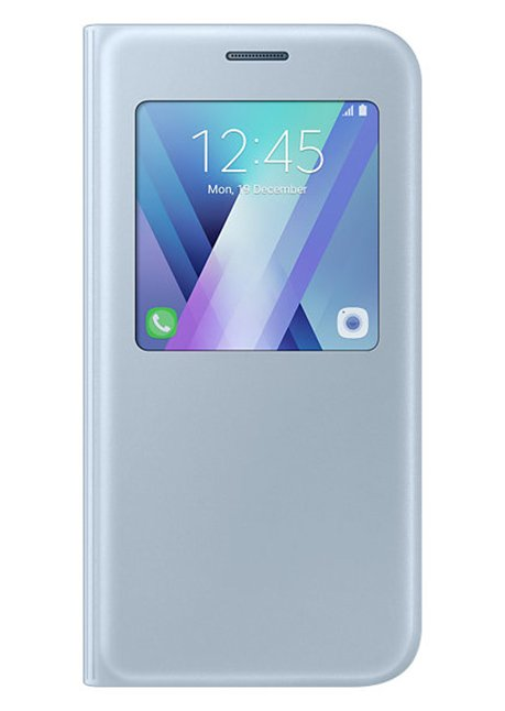 CA520PLE S-View standing cover for Galaxy A5 A520 Blue