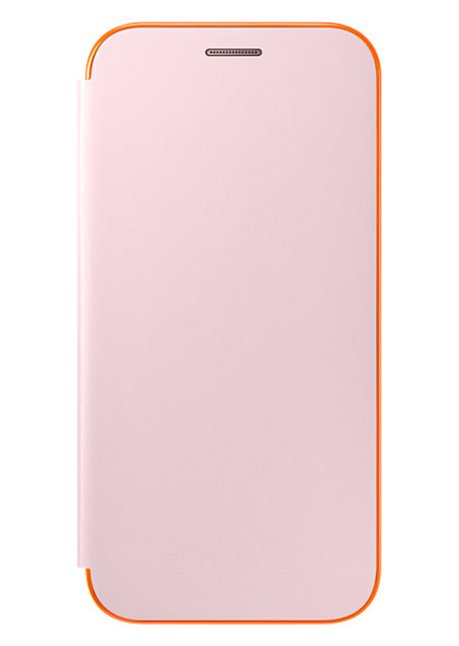 FA520PPE Neon Flip cover for Galaxy A5 A520 Pink