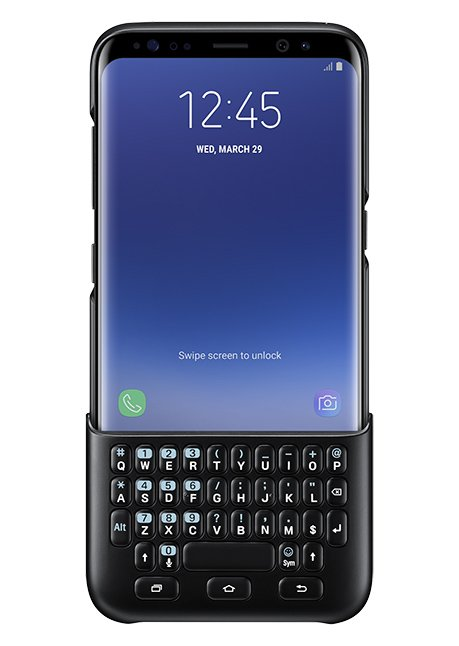 CG950BBEGW Keyboard Cover for Galaxy S8 Black