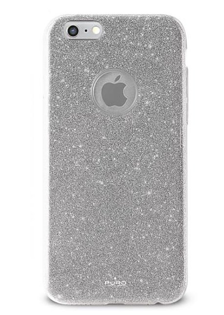 Glitter Shine Back cover for Iphone 6/6s Silver