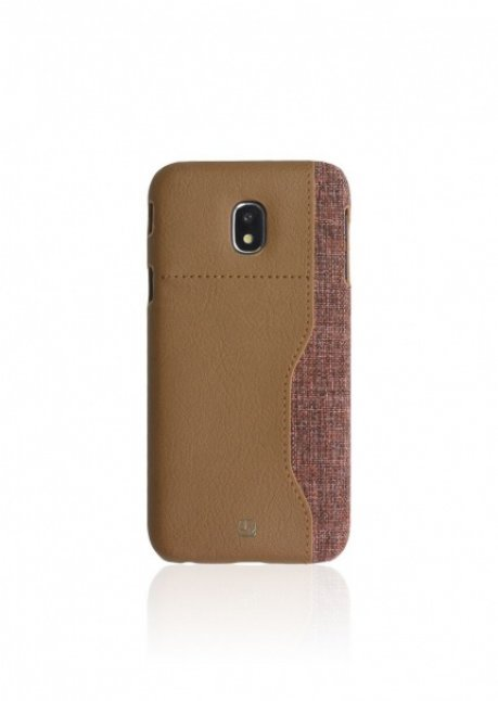 Darty A back cover for Galaxy A3 (2017) Brown