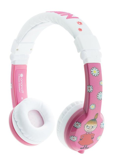 BP-LITTLEMY-01-K BuddyPhones Foldable Moomin Little My Pink